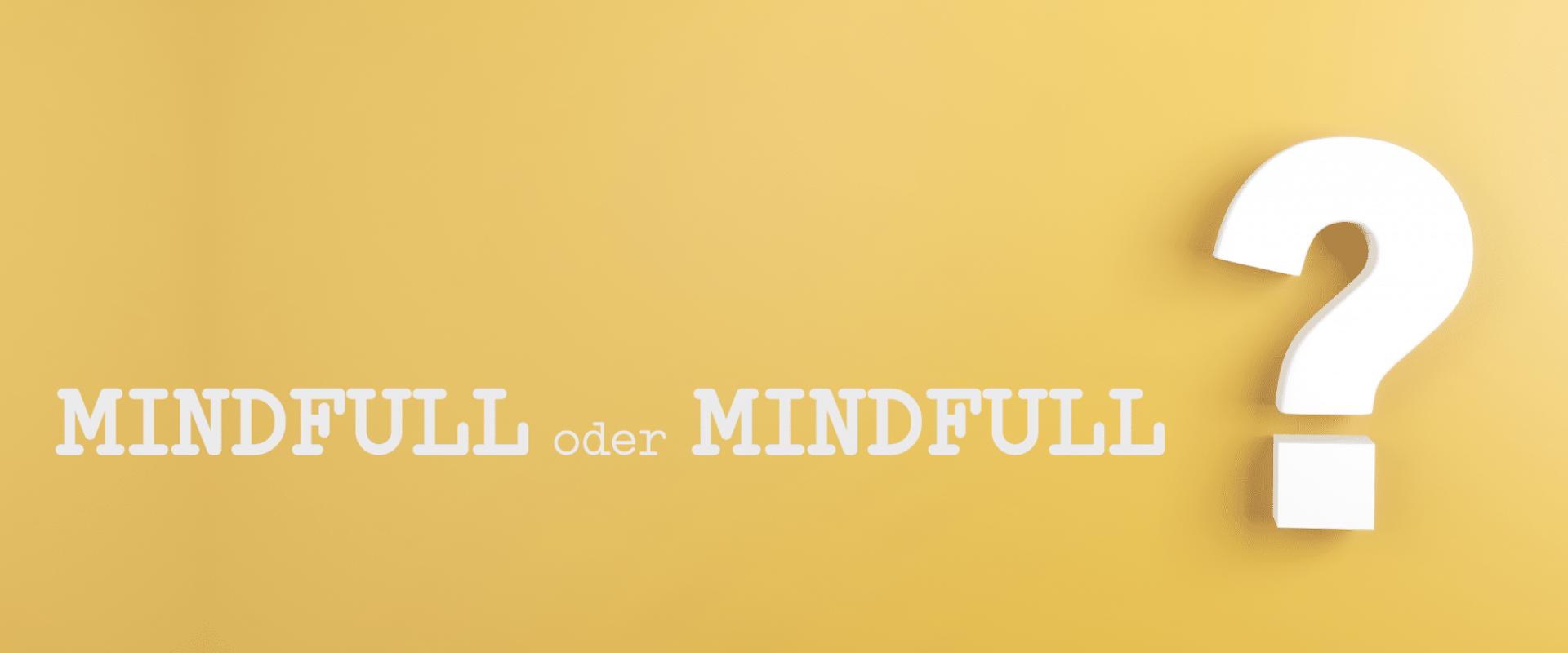 Mindful . Elementartraining