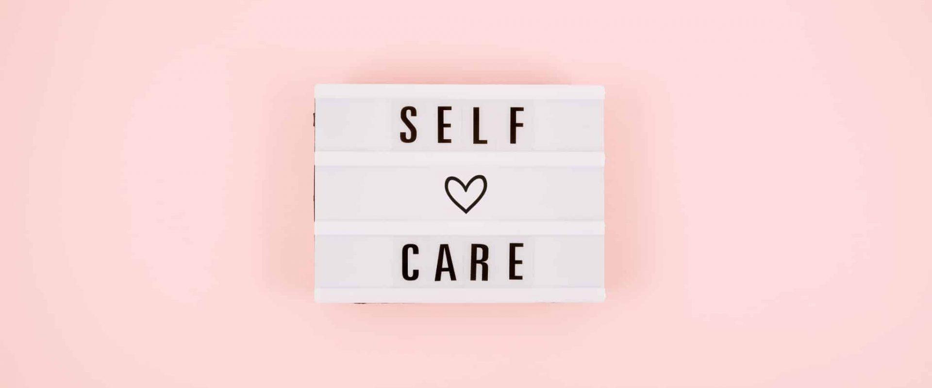 Self Care . Elementartraining